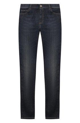 Детские джинсы DOLCE & GABBANA синего цвета, арт. L42F05/LD935/8-14 | Фото 1