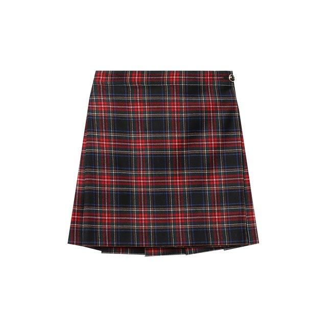 Шерстяная юбка Dolce & Gabbana