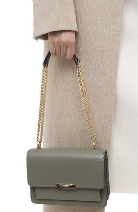 Женская сумка jade large MICHAEL MICHAEL KORS хаки цвета, арт. 30S9GJ4L9L | Фото 2