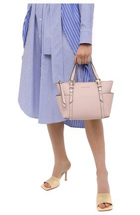 Женский сумка-шопер nomad MICHAEL MICHAEL KORS розового цвета, арт. 30T0GNXT1L | Фото 2