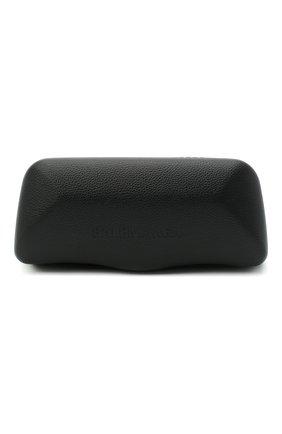 Женские солнцезащитные очки BALENCIAGA черного цвета, арт. 641689/T0007 | Фото 5