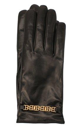 Женские кожаные перчатки BALLY черного цвета, арт. L9P0056L-1S134/00 | Фото 1