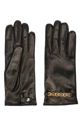 Женские кожаные перчатки BALLY черного цвета, арт. L9P0056L-1S134/00 | Фото 2