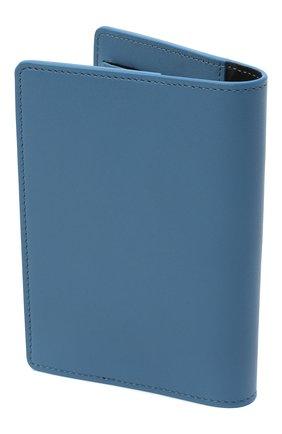 Мужская кожаная обложка для паспорта OFF-WHITE голубого цвета, арт. 0MNC010F20LEA0014501 | Фото 2