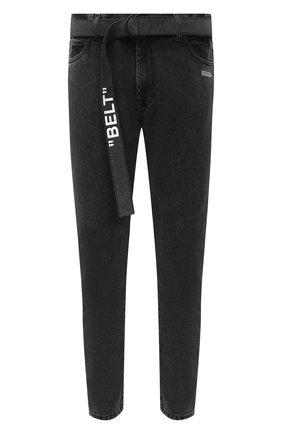 Мужские джинсы OFF-WHITE серого цвета, арт. 0MYA005F20DEN0030901 | Фото 1