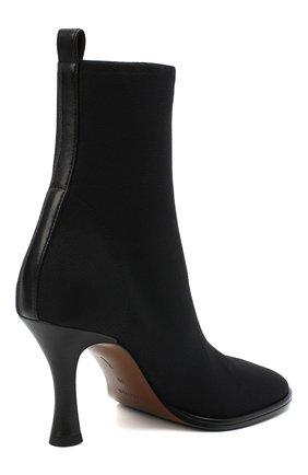 Женские текстильные ботильоны lea NEOUS черного цвета, арт. 00230K01N01 | Фото 4