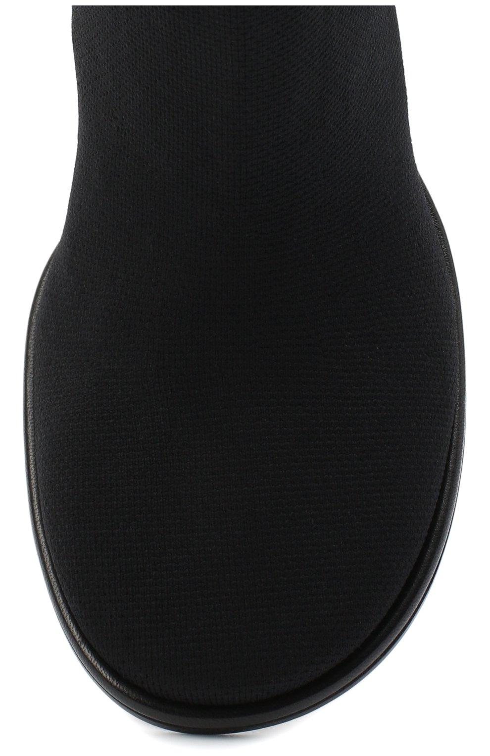 Женские текстильные ботильоны lea NEOUS черного цвета, арт. 00230K01N01 | Фото 5