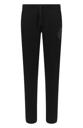 Мужской хлопковые брюки DOLCE & GABBANA черного цвета, арт. GWL2AZ/G7WTE | Фото 1