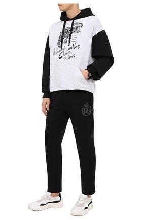 Мужской хлопковое худи DOLCE & GABBANA серого цвета, арт. G9TE6Z/HU7FX   Фото 2