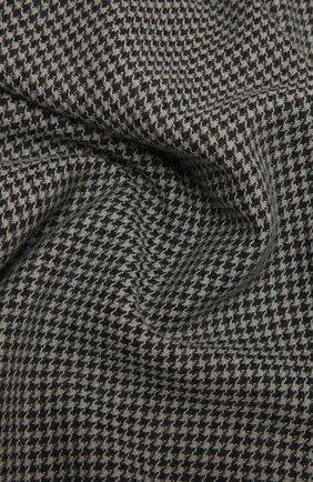Мужской шарф из шерсти и кашемира ERMENEGILDO ZEGNA серого цвета, арт. Z8L50/28T   Фото 2
