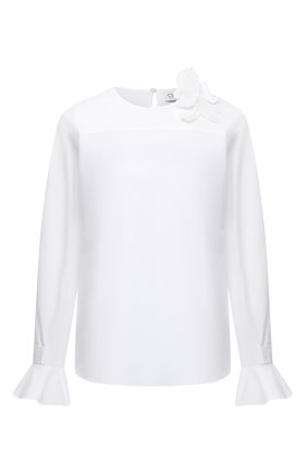 Женская блузка OSCAR DE LA RENTA белого цвета, арт. 20PN720SRN | Фото 1