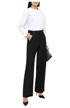 Женская блузка OSCAR DE LA RENTA белого цвета, арт. 20PN720SRN | Фото 2