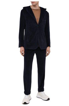Мужской костюм KITON темно-синего цвета, арт. UAS0104K01T29   Фото 1