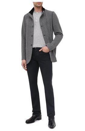 Мужской пиджак из шерсти и кашемира GIORGIO ARMANI серого цвета, арт. 9WGGG09F/T01ZD | Фото 2