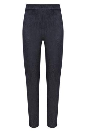 Женские хлопковые брюки ST. JOHN синего цвета, арт. K800W02   Фото 1