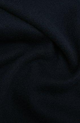Мужской кашемировый шарф AD56 темно-синего цвета, арт. 64200 | Фото 2
