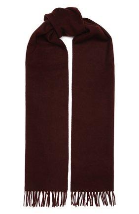 Мужской кашемировый шарф AD56 бордового цвета, арт. 64200 | Фото 1