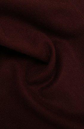 Мужской кашемировый шарф AD56 бордового цвета, арт. 64200 | Фото 2