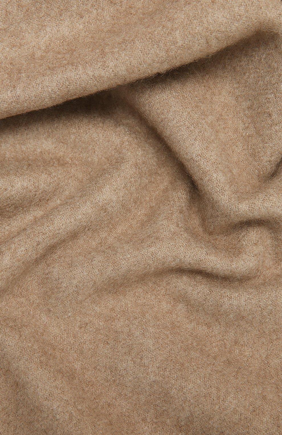 Мужской кашемировый шарф AD56 темно-бежевого цвета, арт. 64200 | Фото 2