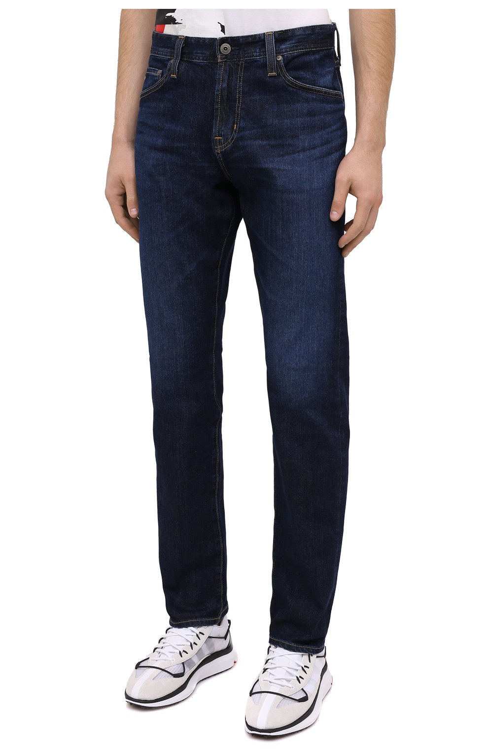 Мужские джинсы AG темно-синего цвета, арт. 1794LED/SEE | Фото 3