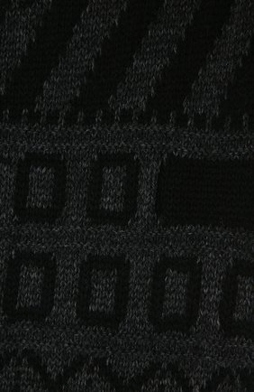 Мужской шерстяной шарф ISABEL BENENATO темно-серого цвета, арт. UK12F20 | Фото 2