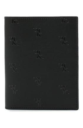 Мужская кожаная обложка для паспорта BILLIONAIRE черного цвета, арт. W20A MVG0340 BLE029N | Фото 1