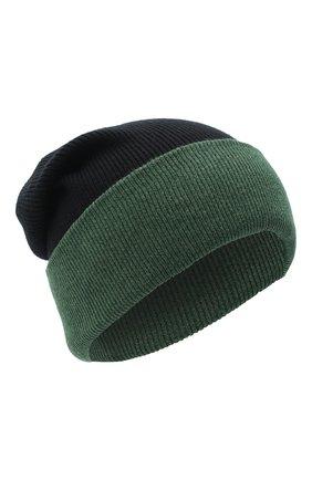 Мужская шерстяная шапка ACNE STUDIOS черного цвета, арт. C40108/M | Фото 1