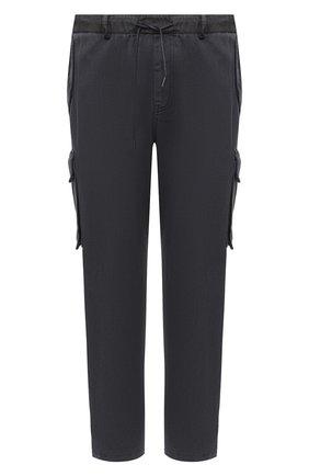 Мужской хлопковые брюки-карго JUUN.J темно-серого цвета, арт. JC0921P523 | Фото 1