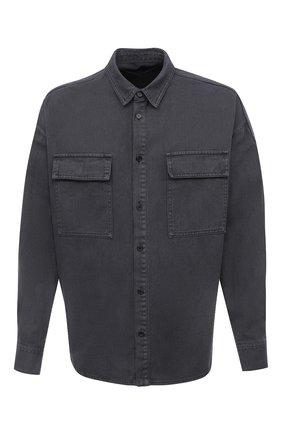 Мужская хлопковая рубашка JUUN.J темно-серого цвета, арт. JC0964P103 | Фото 1