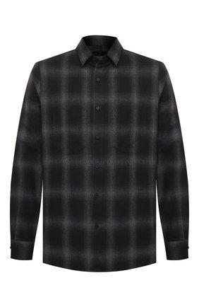 Мужская хлопковая рубашка RTA темно-серого цвета, арт. MF0574-7160BKPD | Фото 1