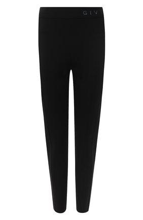 Женские брюки из вискозы GIVENCHY черного цвета, арт. BW50MJ4Z7P | Фото 1