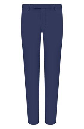 Мужской хлопковые брюки POLO RALPH LAUREN синего цвета, арт. 710644988 | Фото 1