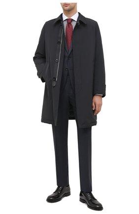 Мужская хлопковая сорочка TOM FORD коричневого цвета, арт. 8FT618/94SWAX | Фото 2