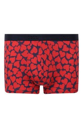 Мужские хлопковые боксеры DEREK ROSE красного цвета, арт. 8615-HEAR001 | Фото 1