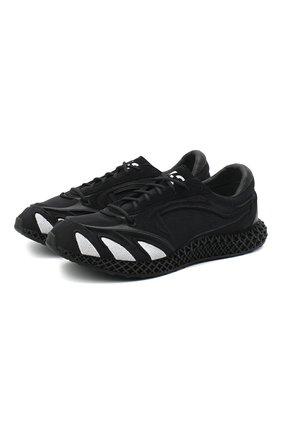 Мужские текстильные кроссовки runner 4d Y-3 черного цвета, арт. FU9207/M | Фото 1