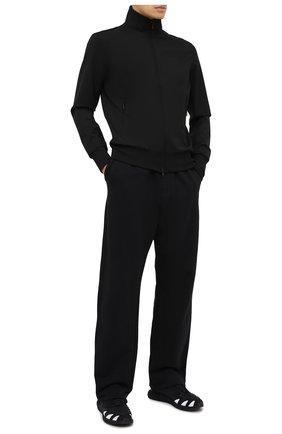 Мужские текстильные кроссовки runner 4d Y-3 черного цвета, арт. FU9207/M | Фото 2