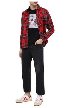 Мужская хлопковая футболка LIMITATO черного цвета, арт. BEE/T-SHIRT | Фото 2