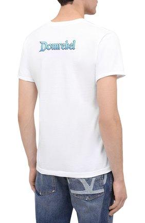 Мужская хлопковая футболка DOM REBEL белого цвета, арт. TEARS/T-SHIRT | Фото 4