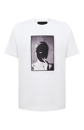 Мужская хлопковая футболка LIMITATO белого цвета, арт. THE SECRET/T-SHIRT | Фото 1