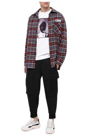 Мужская хлопковая футболка LIMITATO белого цвета, арт. THE SECRET/T-SHIRT | Фото 2