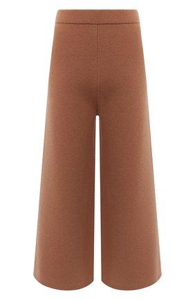 Женские шерстяные брюки JOSEPH коричневого цвета, арт. JF004792 | Фото 1