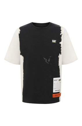 Хлопковая футболка Heron Preston x Caterpillar | Фото №1