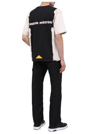 Хлопковая футболка Heron Preston x Caterpillar | Фото №2