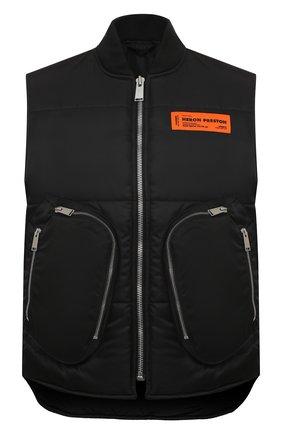 Мужской утепленный жилет HERON PRESTON черного цвета, арт. HMEA049F20FAB0031000 | Фото 1
