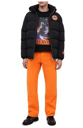 Мужская пуховая куртка HERON PRESTON черного цвета, арт. HMED003F20FAB0011022 | Фото 2
