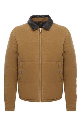 Мужская утепленная куртка HERON PRESTON бежевого цвета, арт. HMED006F20FAB0046300 | Фото 1