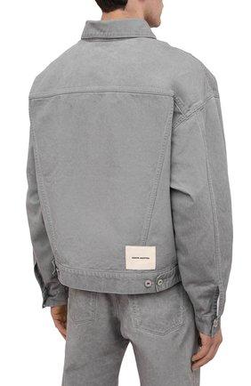 Мужская джинсовая куртка HERON PRESTON серого цвета, арт. HMYE005F20DEN0016000 | Фото 4