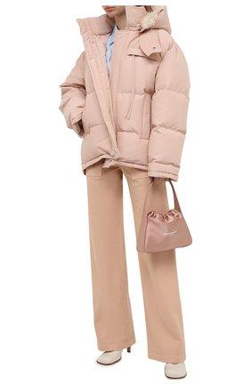 Женский пуховик JIL SANDER розового цвета, арт. JPPR440997-WR253000 | Фото 2