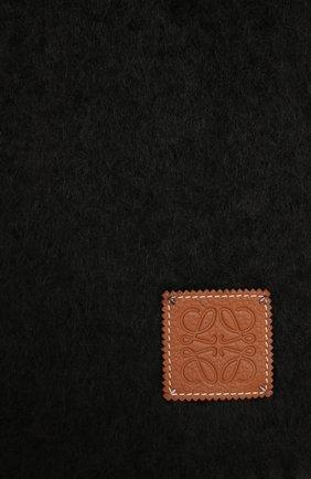Мужской шарф LOEWE черного цвета, арт. F655254X01 | Фото 2