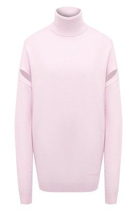 Женский кашемировый свитер GIVENCHY розового цвета, арт. BW90AG4Z7G   Фото 1